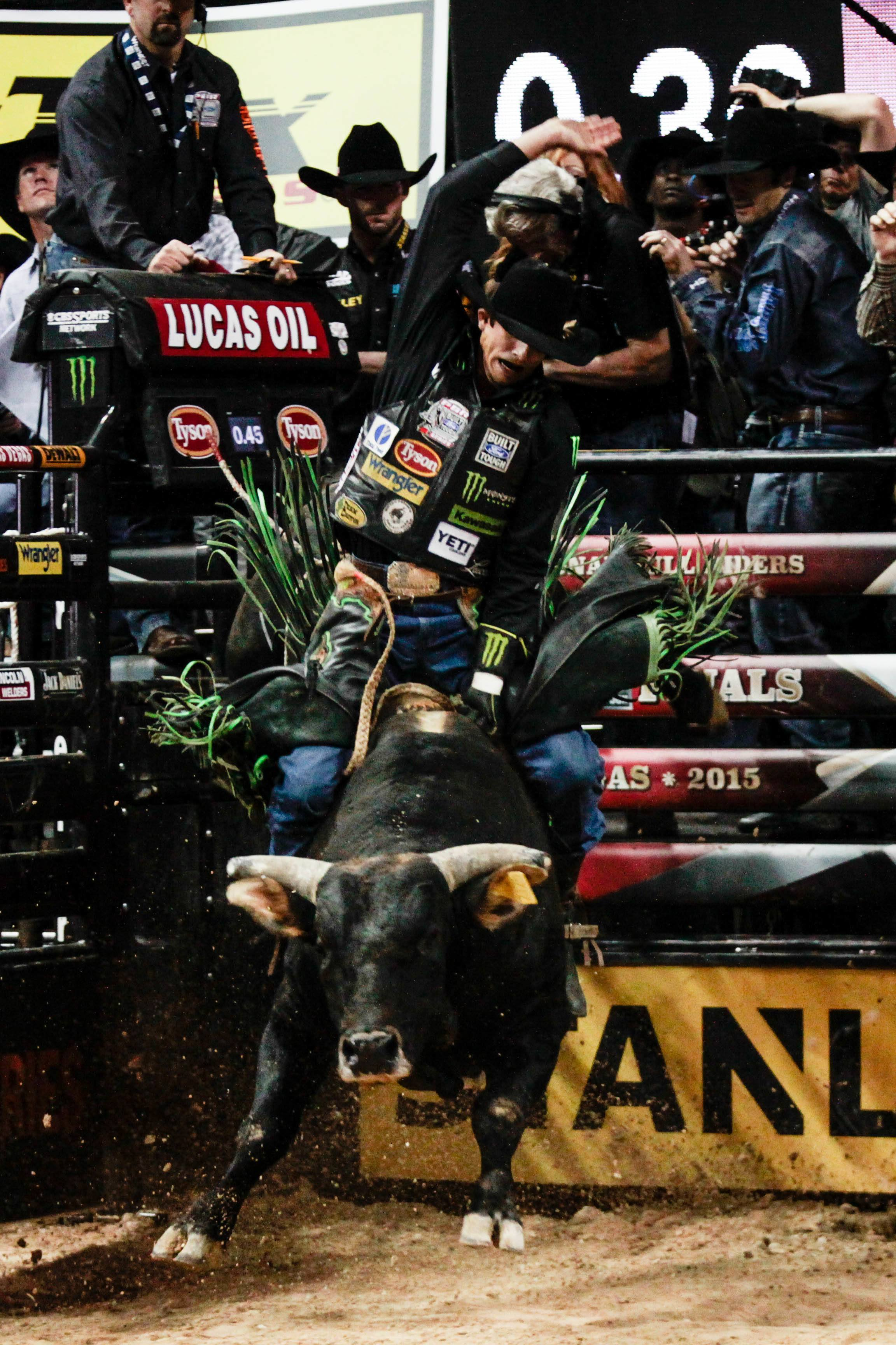 The 2015 Pbr World Finals Kicked Off With Round 1 Earlier