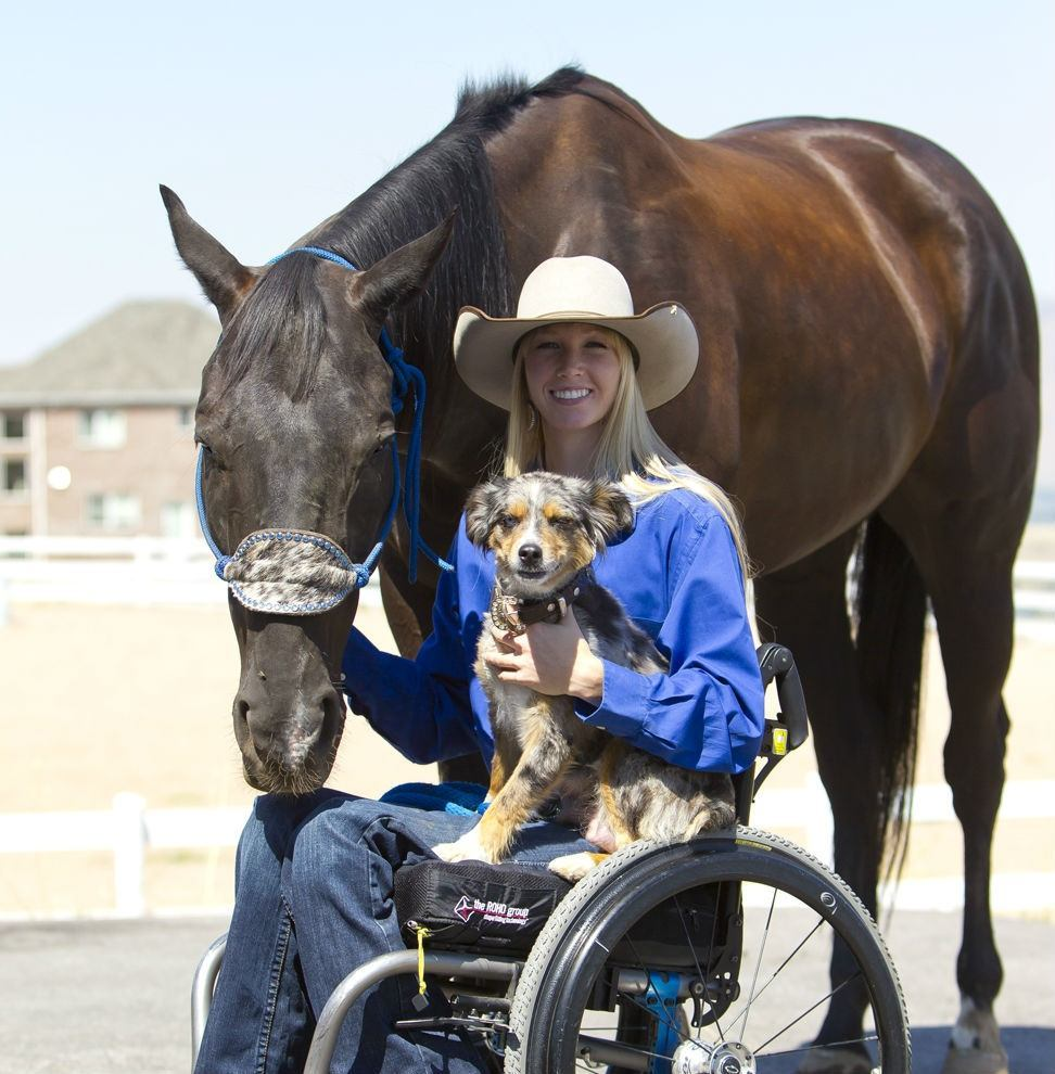 Barrel Racer And Motivational Speaker Amberley Snyder Is