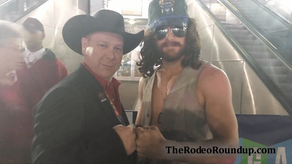 Dale Brisby at the 2014 NFR
